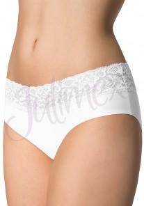 Figi damskie Hipsters białe Julimex