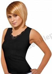 Koszulka damska MALIKA czarna BABELL