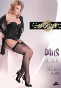 Pończochy do paska Katia Plus Size Gabriella