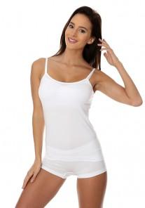 CM00210A Koszulka damska Camisole COMFORT COTTON biały Brubeck
