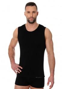 SL00068A Koszulka męska COMFORT COTTON czarny Brubeck