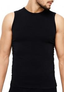 Koszulka męska MTP-003 czarna Rossli