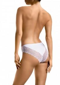 Figi damskie 109 biały Babell