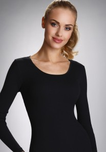 Koszulka damska IRENE czarna Eldar