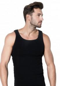Koszulka męska MTP-002 czarna Rossli