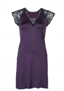 Koszula nocna damska VHL-152 fiolet Vena