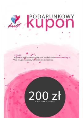 Kupon podarunkowy 200 zł